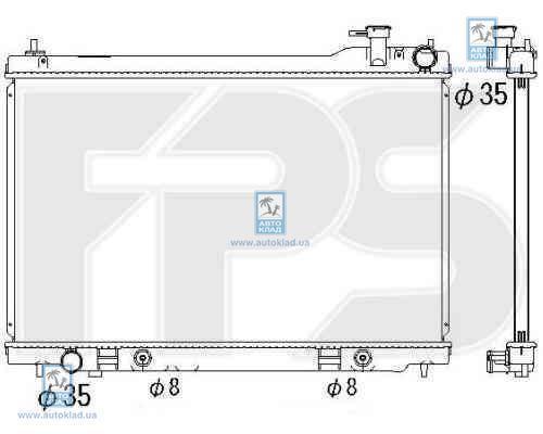 Радиатор охлаждения FPS 50A1338X