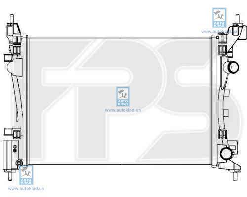 Радиатор охлаждения FPS 52A1092