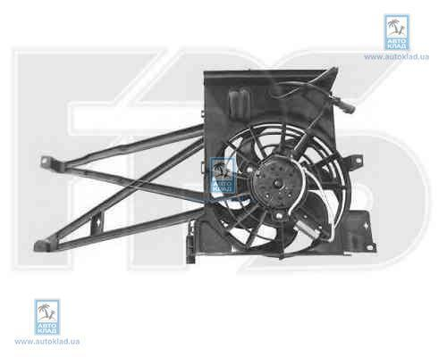 Вентилятор радиатора FPS 52W50