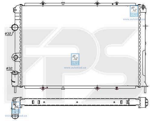 Радиатор охлаждения FPS 56A381X