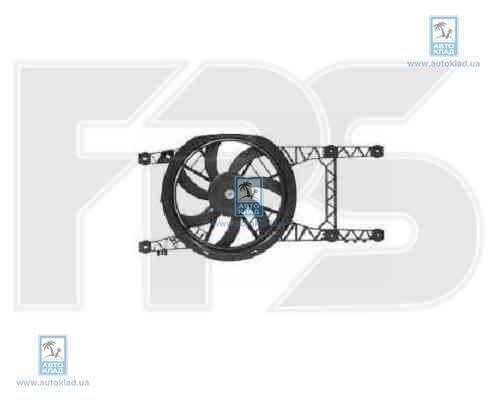 Вентилятор радиатора FPS 56W174