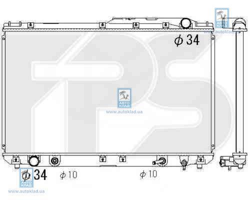 Радиатор охлаждения FPS 70A1283X