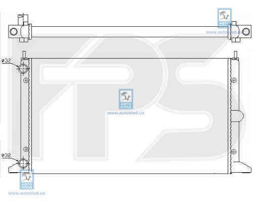 Радиатор охлаждения FPS 74A175