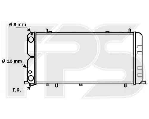 Радиатор охлаждения FPS 12A836