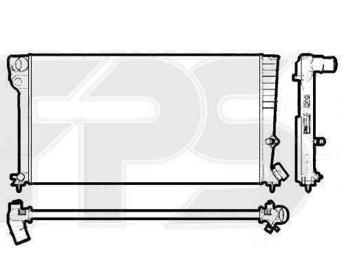 Радиатор охлаждения FPS 20A62