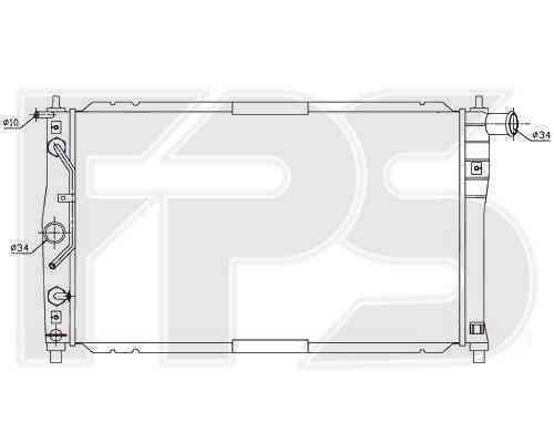 Радиатор охлаждения FPS 22A684