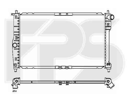Радиатор охлаждения FPS 22A775P
