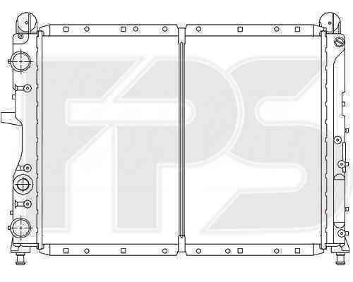 Радиатор охлаждения FPS 26A116