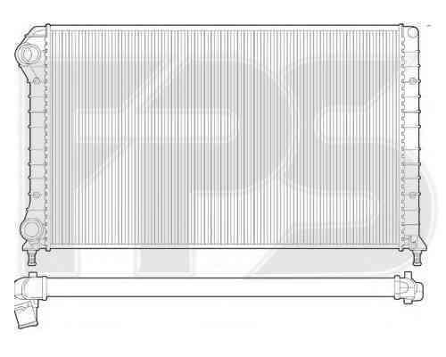 Радиатор охлаждения FPS 26A1444