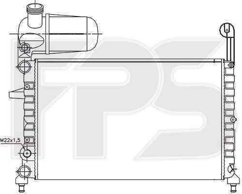 Радиатор охлаждения FPS 26A786