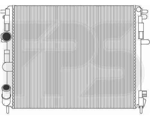 Радиатор охлаждения FPS 27A387P