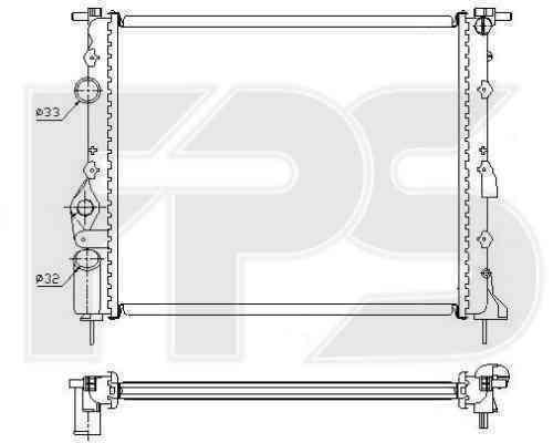 Радиатор охлаждения FPS 27A392