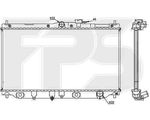 Радиатор охлаждения FPS 30A09
