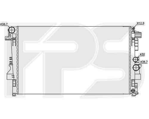 Радиатор охлаждения FPS 46A16