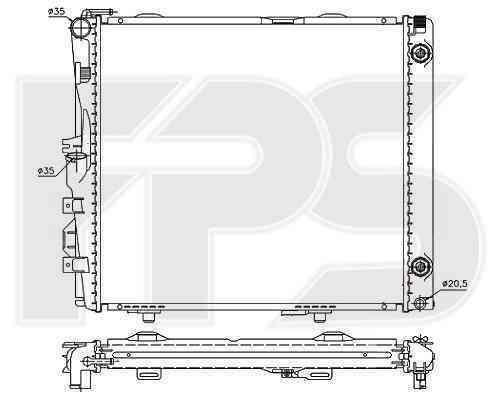 Радиатор охлаждения FPS 46A211