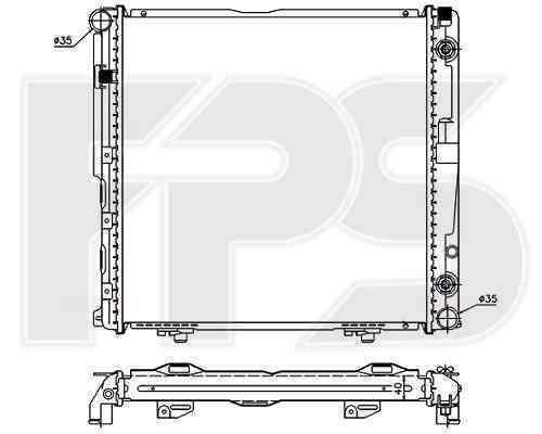 Радиатор охлаждения FPS 46A212