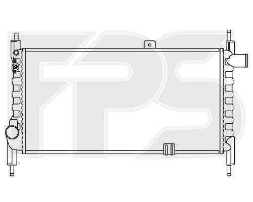 Радиатор охлаждения FPS 52A250