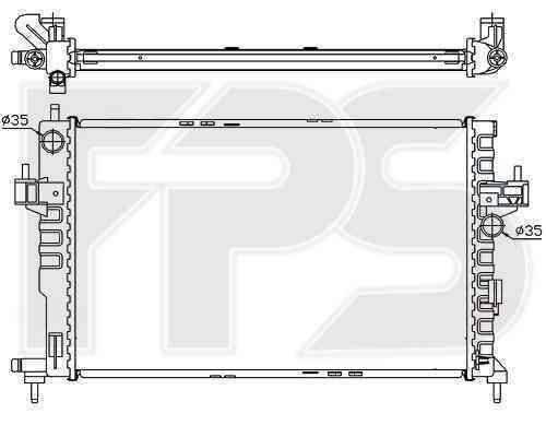 Радиатор охлаждения FPS 52A264