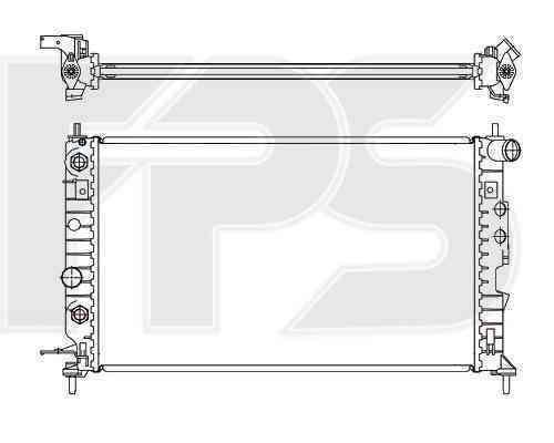Радиатор охлаждения FPS 52A284