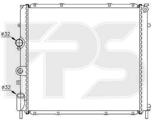 Радиатор охлаждения FPS 56A395P
