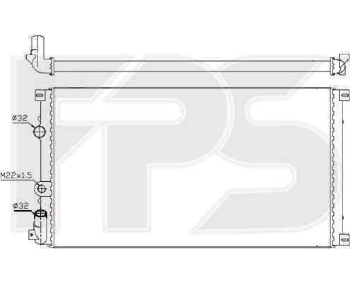 Радиатор охлаждения FPS 56A930