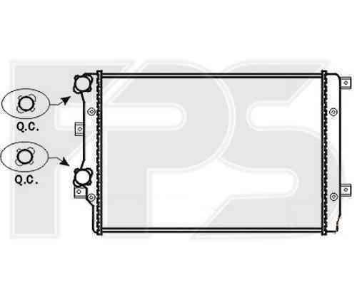 Радиатор охлаждения FPS 62A470P