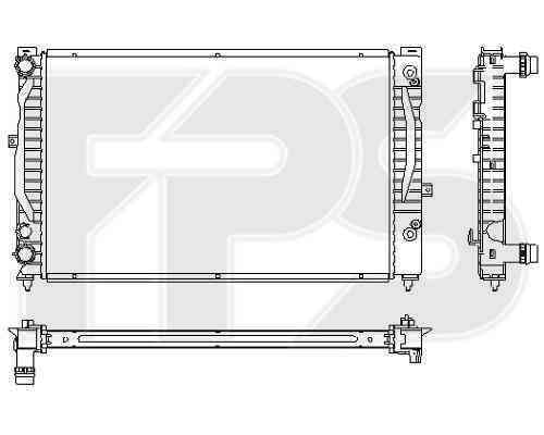 Радиатор охлаждения FPS 74A424