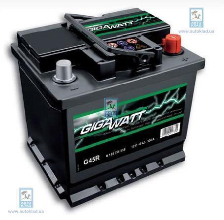 Аккумулятор 45Ач GIGAWATT 0185754555