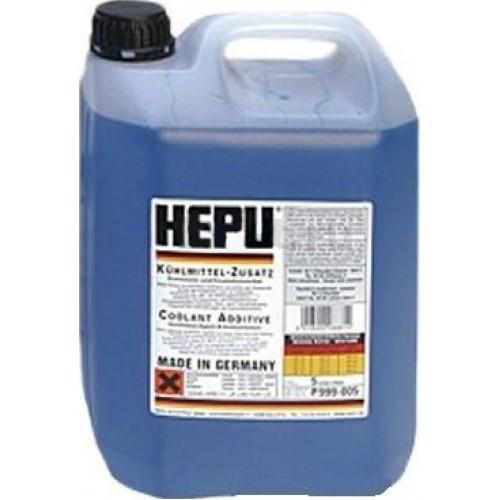 Антифриз G11 синий концентрат -80°C 5л HEPU P999005