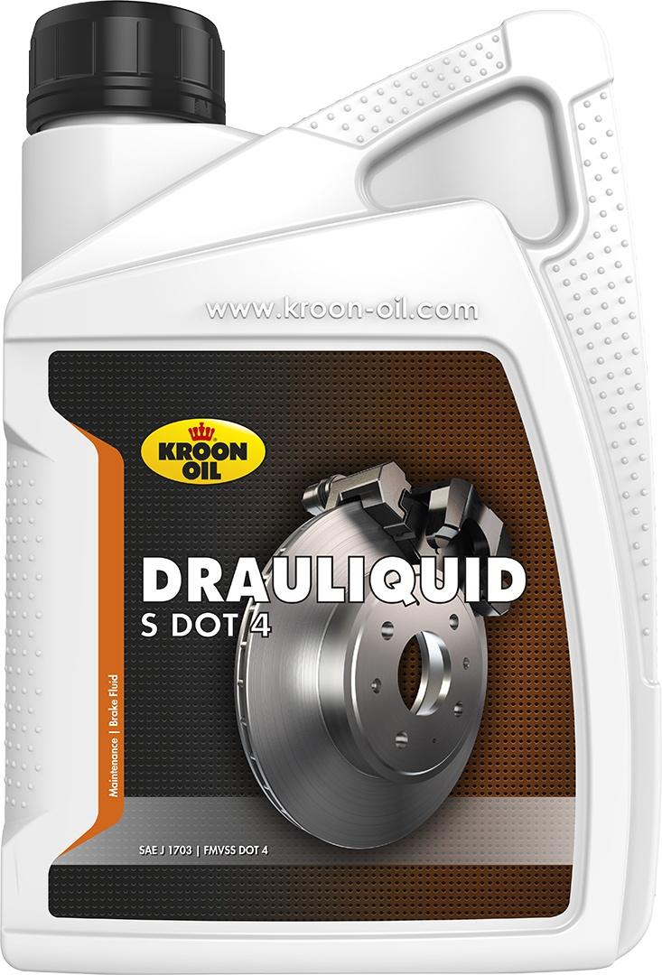 Тормозная жидкость DOT4 1л KROON OIL 04206