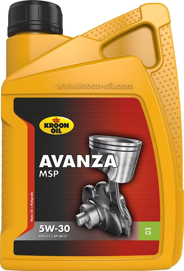 Масло моторное 5W-30 Avanza MSP 1л KROON OIL 33483