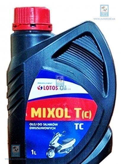 Масло 2Т Mixol T API TC 1л LOTOS LOTMIXTAPITCL1