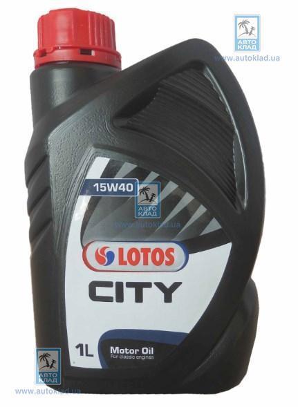 Масло моторное 15W-40 City 1л LOTOS WFK1075100N0