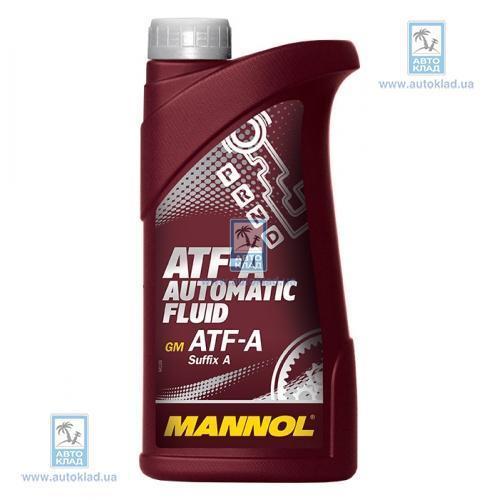 Масло трансмиссионное ATF-A Automatic Fluid 1л MANNOL MN2801