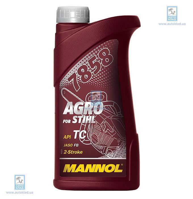 Масло 2Т 7858 AGRO for STIHL 1л MANNOL MN7858