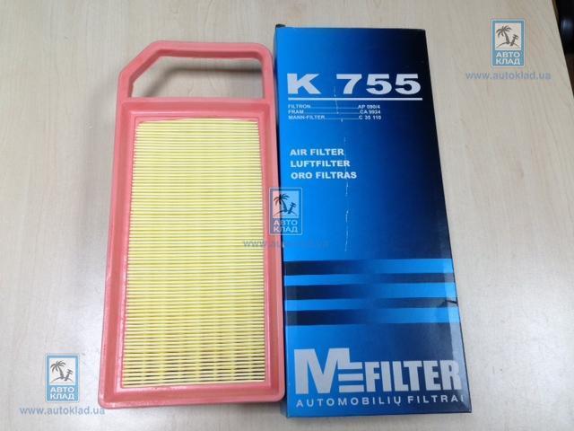 Фильтр воздушный MFILTER K755