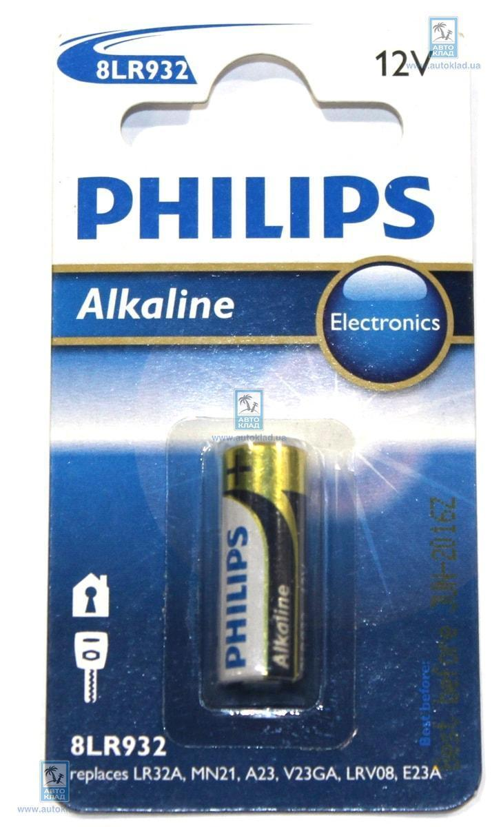 Батарейка щелочная 8LR932 PHILIPS 8LR93201B