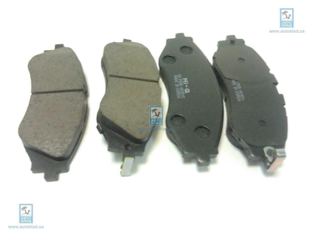 Колодки тормозные SANGSIN SP1102