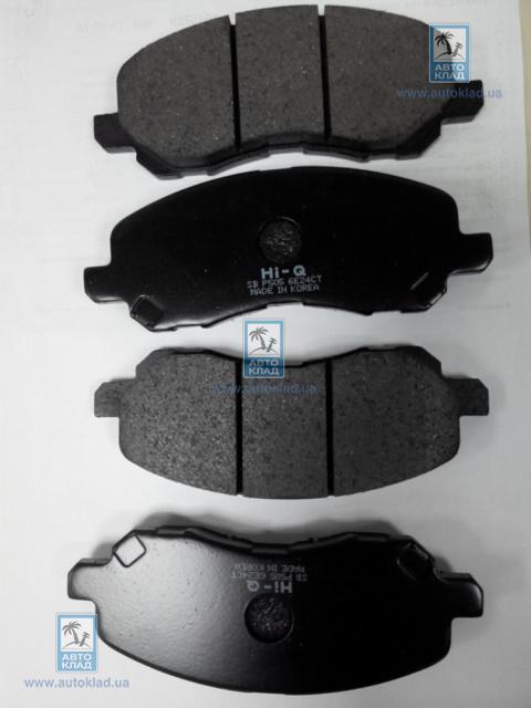 Колодки тормозные передние SANGSIN SP1360
