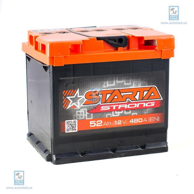 Аккумулятор 52Ач АЗ Euro Strong STARTA JDF052ST00