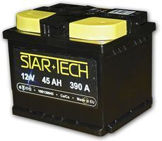 Аккумулятор 45Ач 390A STARTECH 10B130045