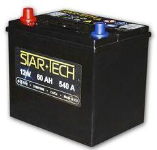 Аккумулятор 60Ач 540А STARTECH 20B00060