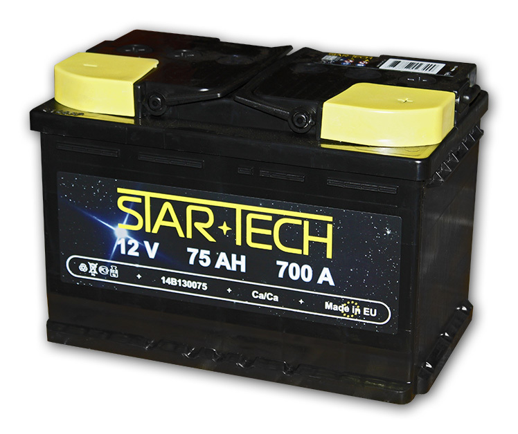 Аккумулятор 70Ач 630А STARTECH 22B90070