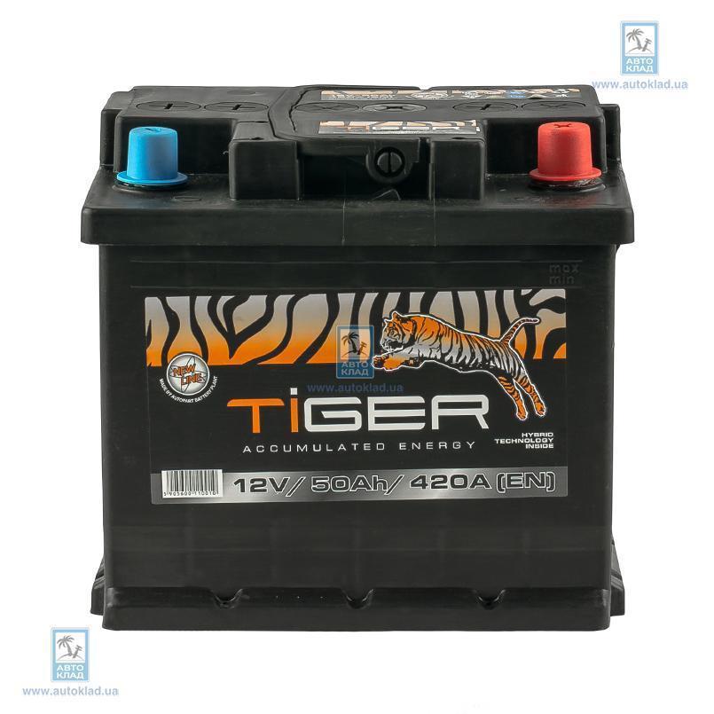Аккумулятор 50Ач Euro (0) TIGER AFS05000