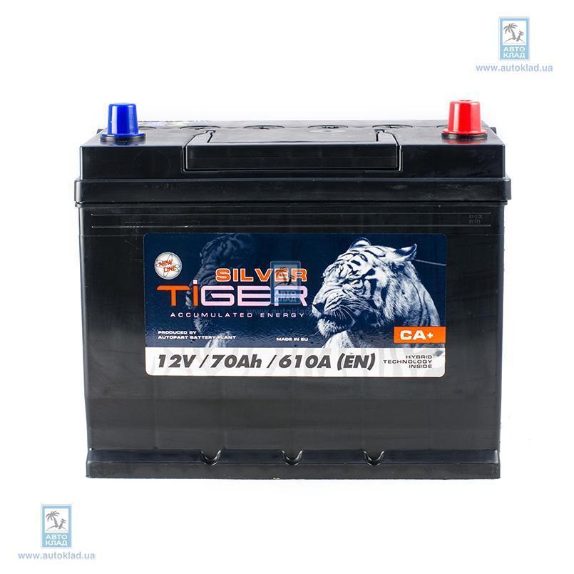 Аккумулятор 70Ач Silver Japan Euro (0) TIGER AFS070SJ00