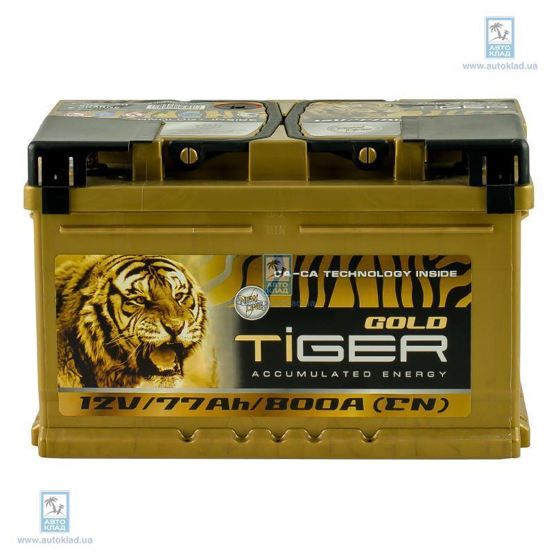 Аккумулятор 77Ач Gold Euro (0) TIGER AFS077G00