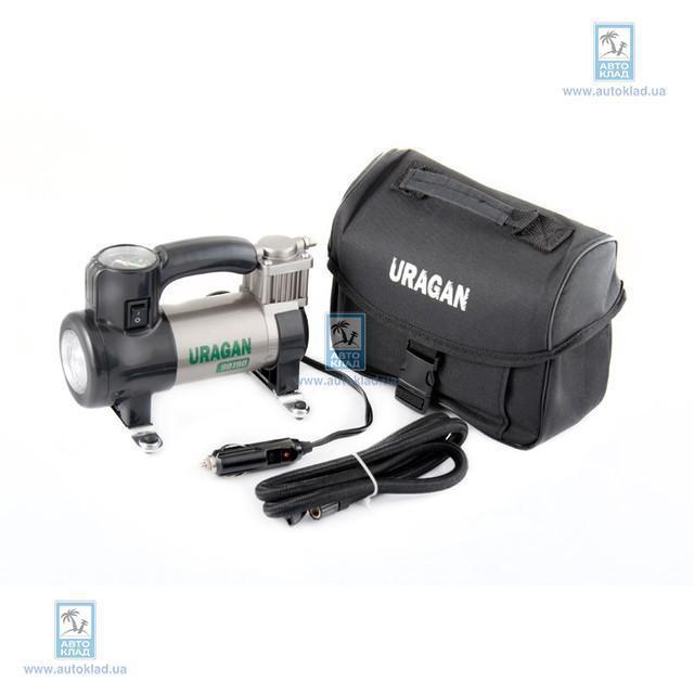 Компрессор автомобильный URAGAN с LED-фонарем URAGAN 90190