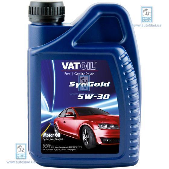 Масло моторное 5W-30 SynGold 1л VATOIL VAT101