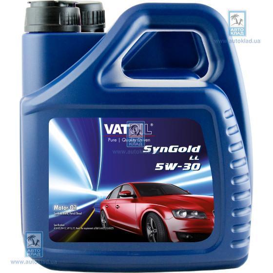 Масло моторное 5W-30 SynGold LL 4л VATOIL VAT104LL