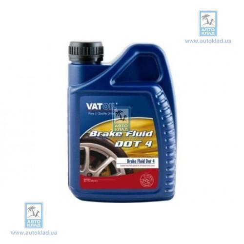 Тормозная жидкость DOT 4 1л VATOIL VATDOT4